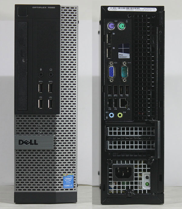 【良品中古】 DELL Optiplex 7020 (Core i7-4790 3.60GHz/ メモリ16GB/ SSD240GB/ DVDスーパーマルチ/ 10Pro64bit)