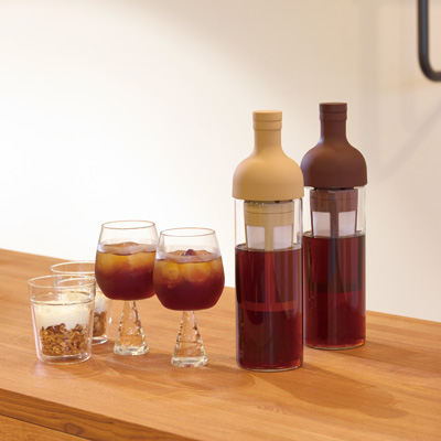 HARIO フィルターインコーヒーボトル ショコラブラウン 実容量650ml FIC-70-CBR
