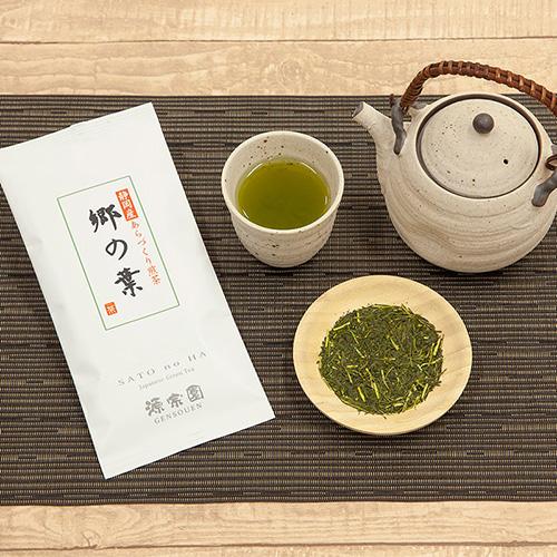 静岡産深蒸し茶 郷の葉 100g