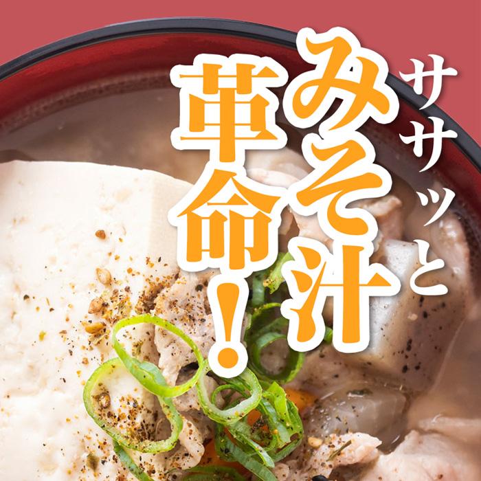 ☆だし専門店のみそ汁のもと 100g×2袋 【メール便送料無料】[M便 1/4]