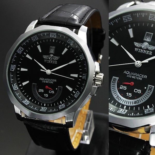 【バックスケルトン仕様】ビッグフェイス自動巻き腕時計【全4色・保証書付き】BCG21
