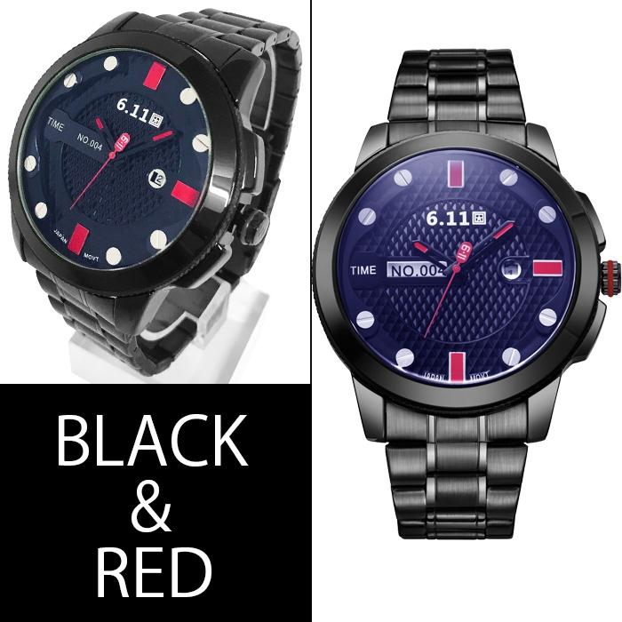【エコドライブ仕様】フルステンレス・プレミアムソーラー腕時計【全4色・BOX・保証書付き】