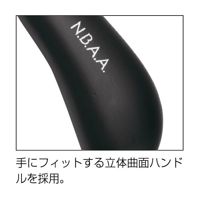 (NB-BB4/NB-BB2)N.B.A.A.ブラッシングブラシ(ナチュラルウッド/ブラック)