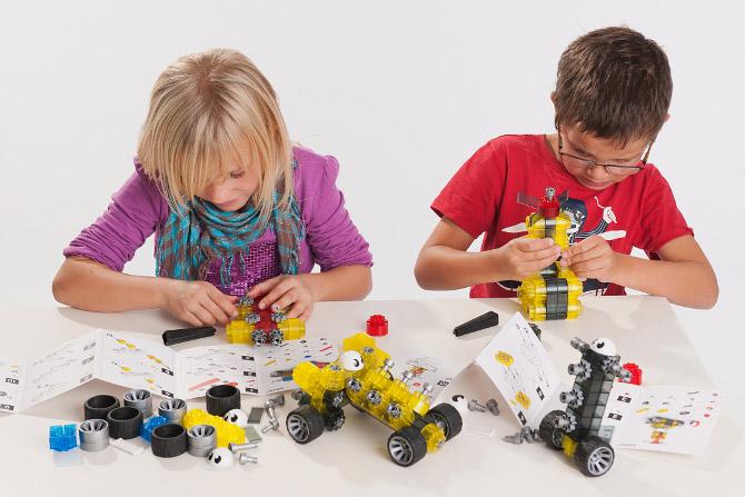 kiditec(キディテック) Set1405 Moonshadow(ムーンシャドウ) プログラミング的思考を育てる組み立て知育玩具