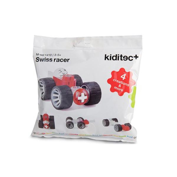 kiditec(キディテック) Set1410 Swiss racer(スイスレーサー) プログラミング的思考を育てる組み立て知育玩具