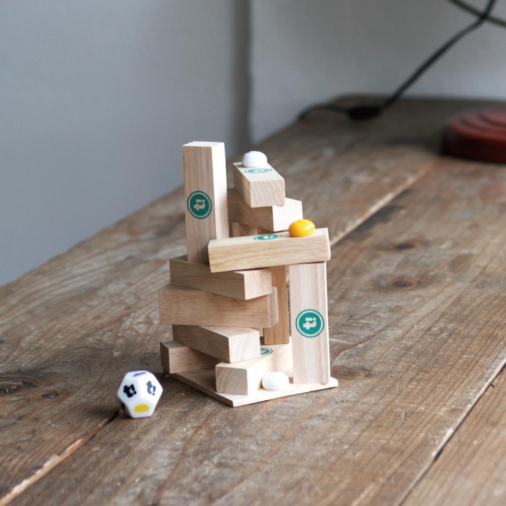 Tummple!(タンプル) シンプルだからハマる戦略的積み上げゲーム