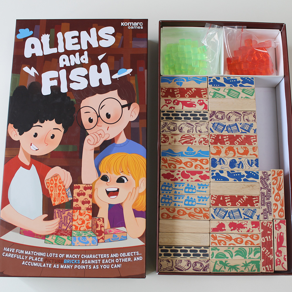 Alien and Fish(エイリアン&フィッシュ) 戦略的ボードゲーム