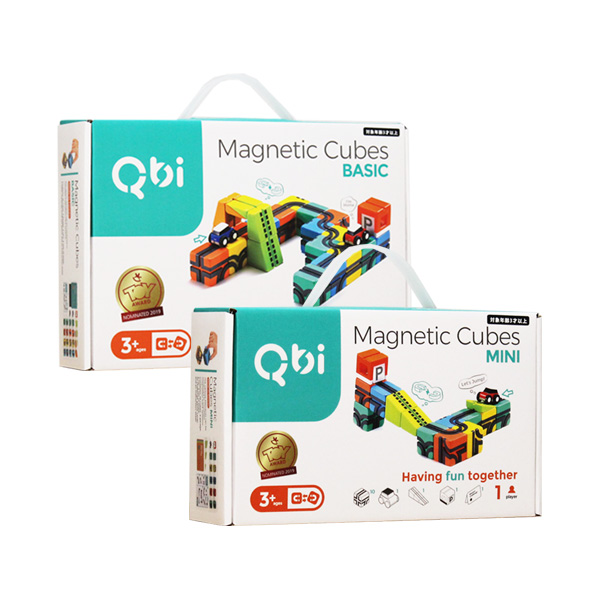 【ポイント10倍】QBI(Qbitoy) 特別セット MINI+BASIC 37ピース・車3台入り