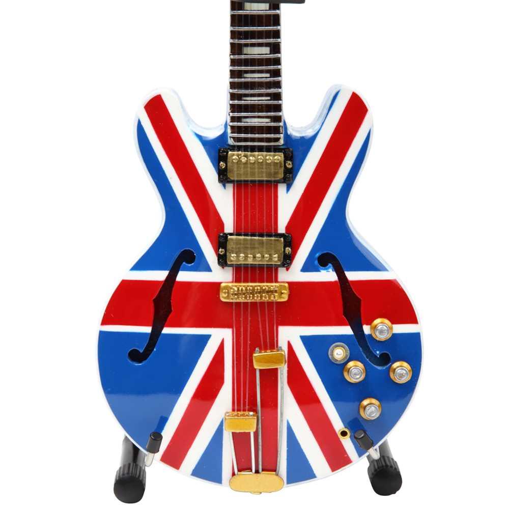 OASIS - (映画『KNEBWORTH1996』公開 ) - Noel Gallagher Union Jack Supernovaミニチュア / ミニチュア楽器