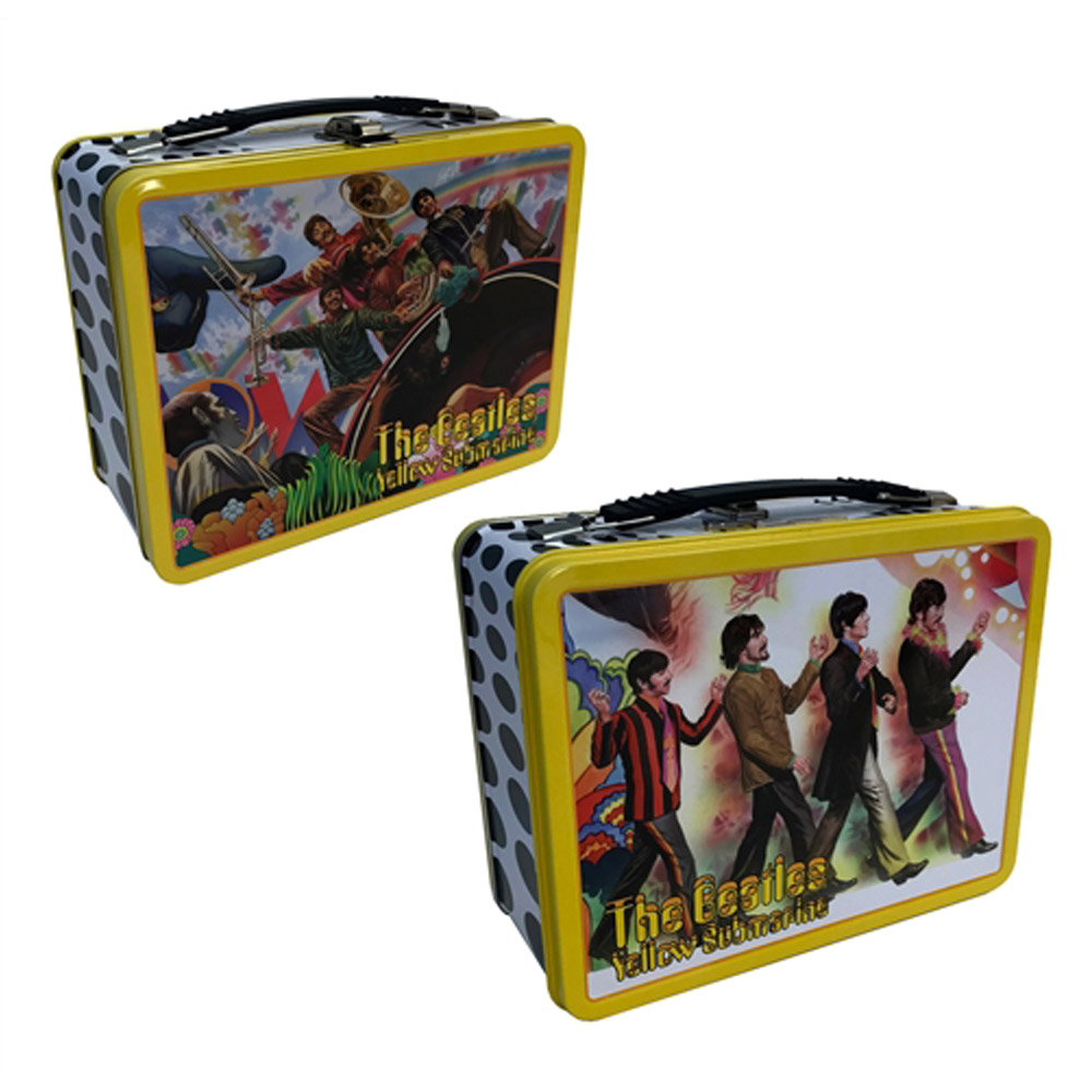 BEATLES - (来日55周年記念 ) - Yellow Submarine Tin Tote / Alex Ross / バッグ