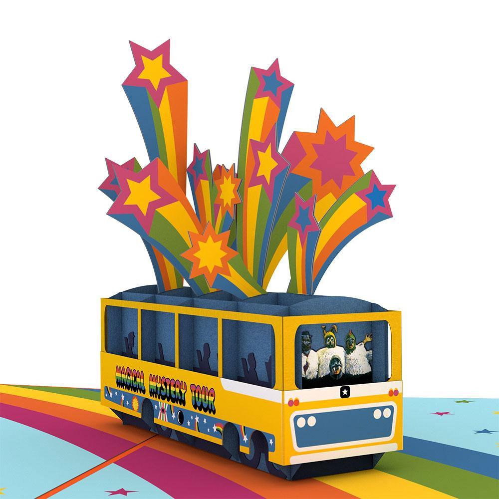 BEATLES - (来日55周年記念 ) - Magical Mystery Tour 3D カード / Lovepop(ブランド) / ポストカード・レター