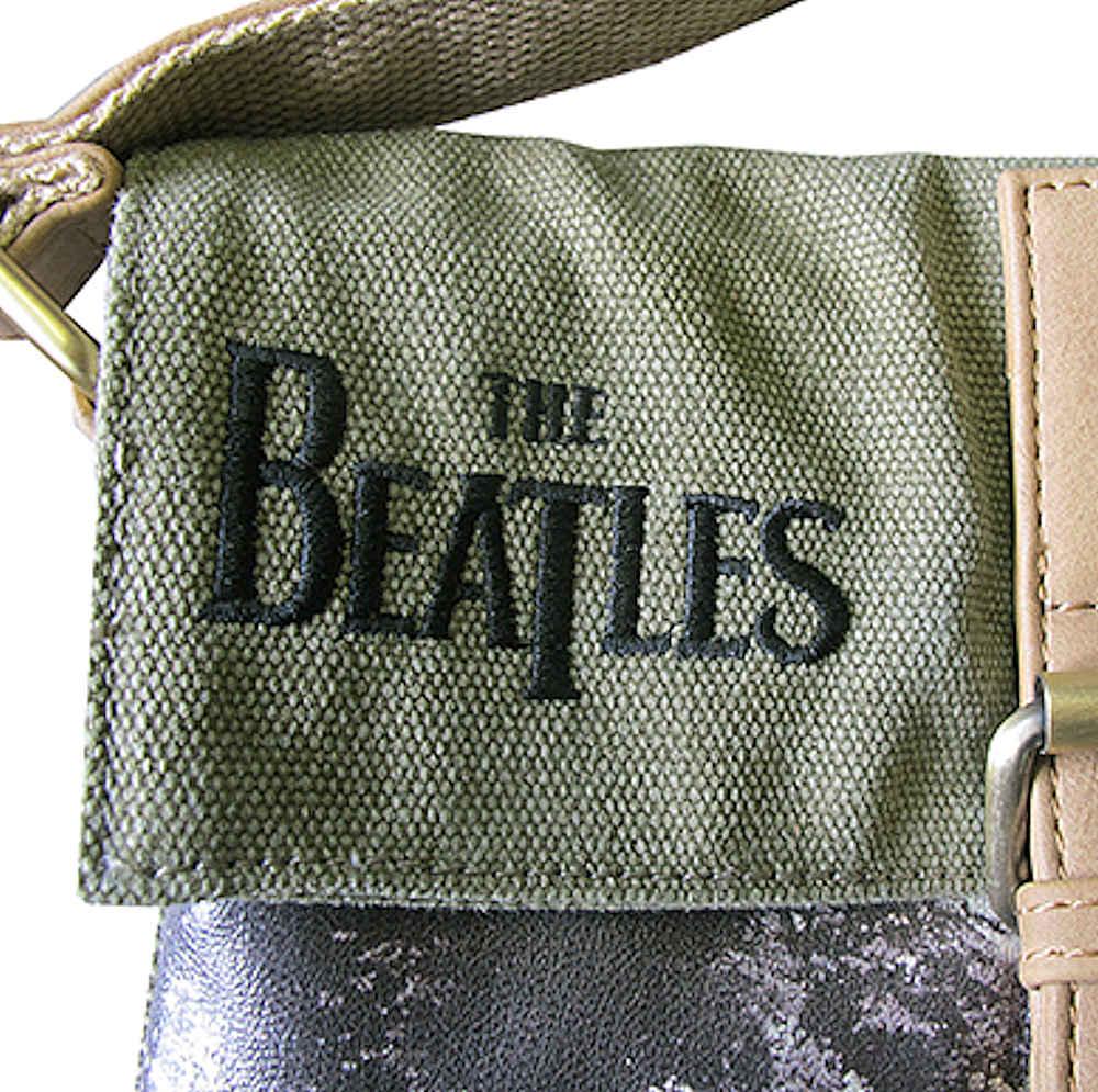 BEATLES - (来日55周年記念 ) - ABBEY ROAD GREEN / サコッシュ / Disaster Design(U.K.ブランド) / バッグ