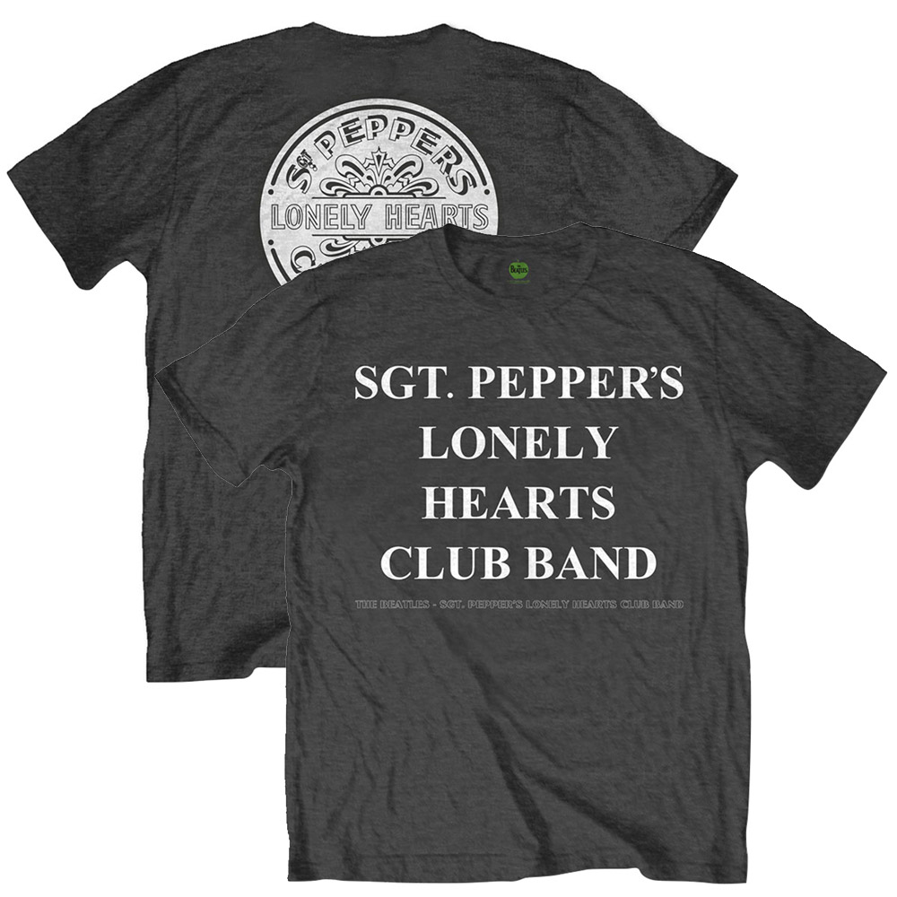 BEATLES - (LET IT BE 50周年記念 ) - SPLHCB WITH DRUM / SGT / バックプリントあり / Tシャツ / メンズ