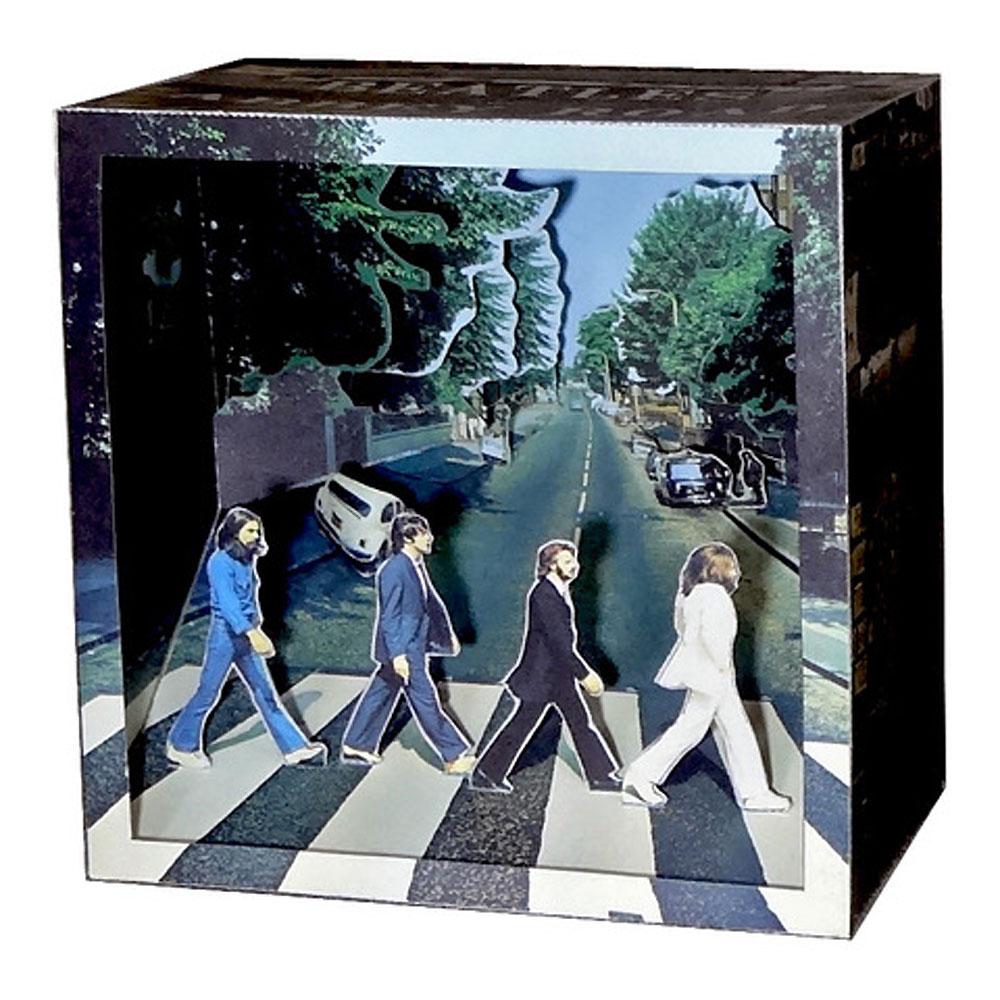 BEATLES - (来日55周年記念 ) - Abbey Road / Tatebankoペーパージオラマ / ホビー雑貨
