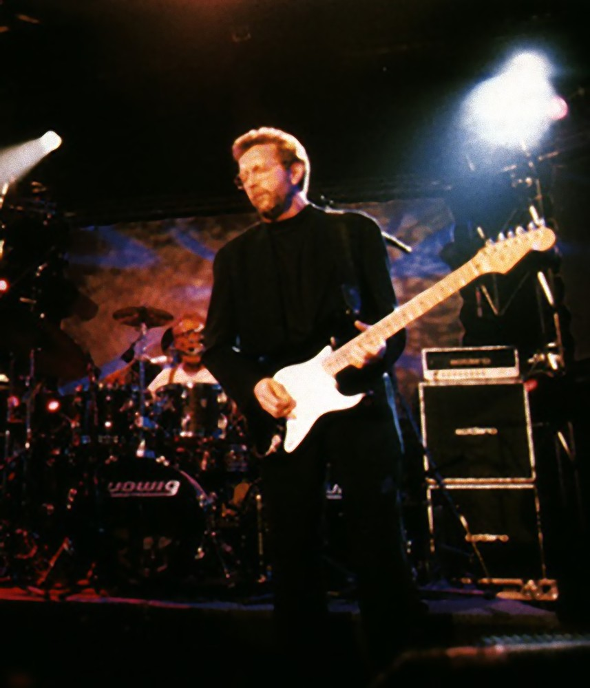 ERIC CLAPTON - (CREAM結成55周年記念 ) - Vintage Blackie Fender Strat / ミニチュア楽器