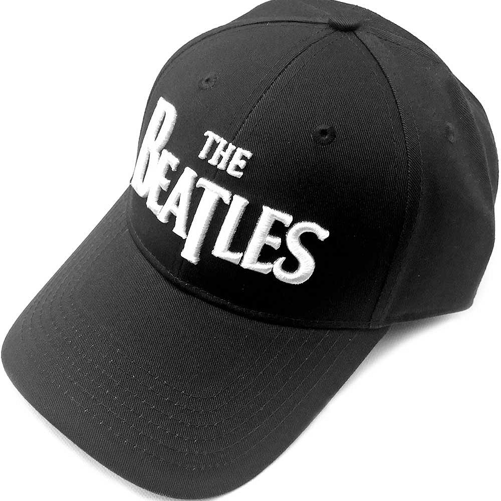 BEATLES - (来日55周年記念 ) - DROP T LOGO(刺繍/ブラック) / キャップ / メンズ