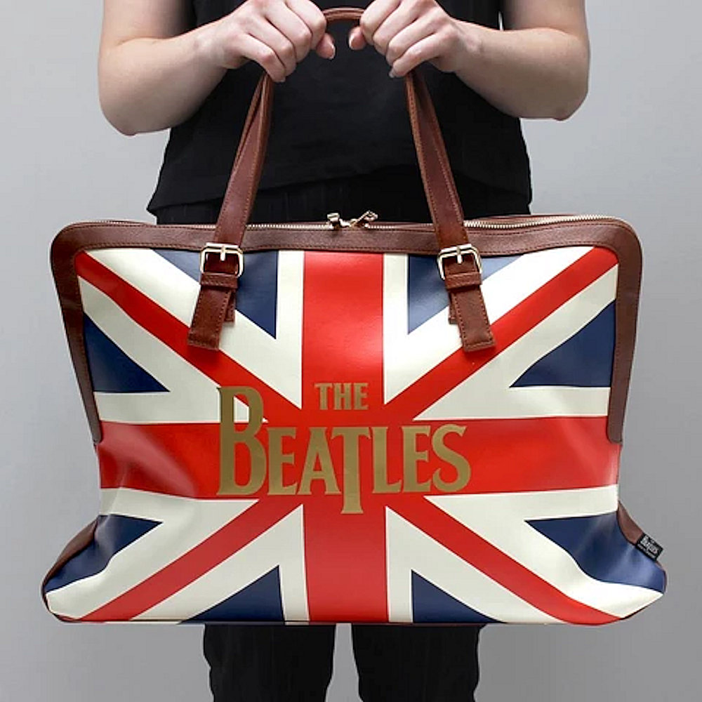 BEATLES - (来日55周年記念 ) - Union Jack / ボストンバッグ / Disaster(U.K.ブランド) / バッグ