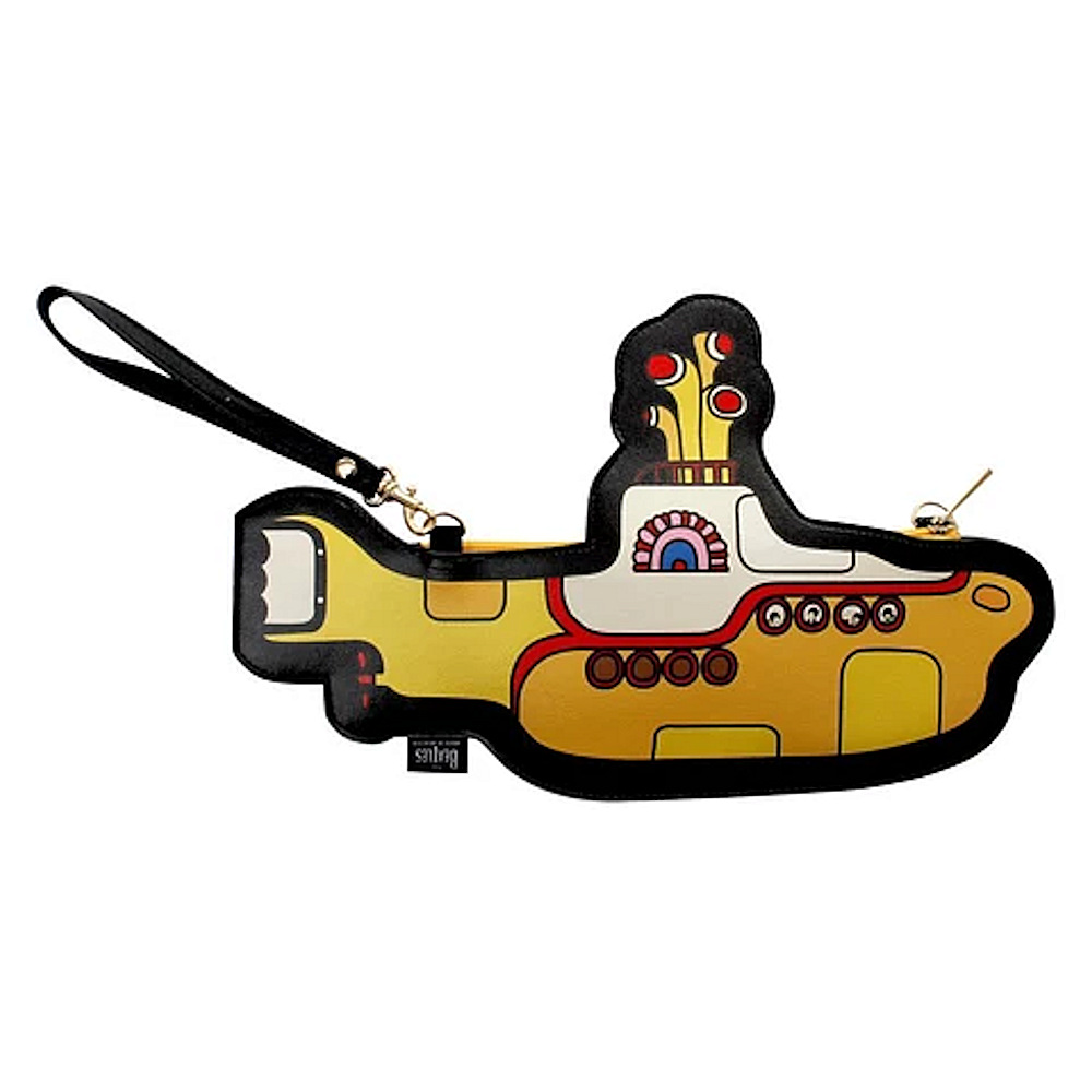 BEATLES - (来日55周年記念 ) - Shaped Yellow Submarine / クラッチバッグ / Disaster(U.K.ブランド) / バッグ