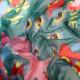 BEATLES - (来日55周年記念 ) - Yellow Submarine Psychedelic スカーフ/Disaster(U.K.ブランド) / マフラー