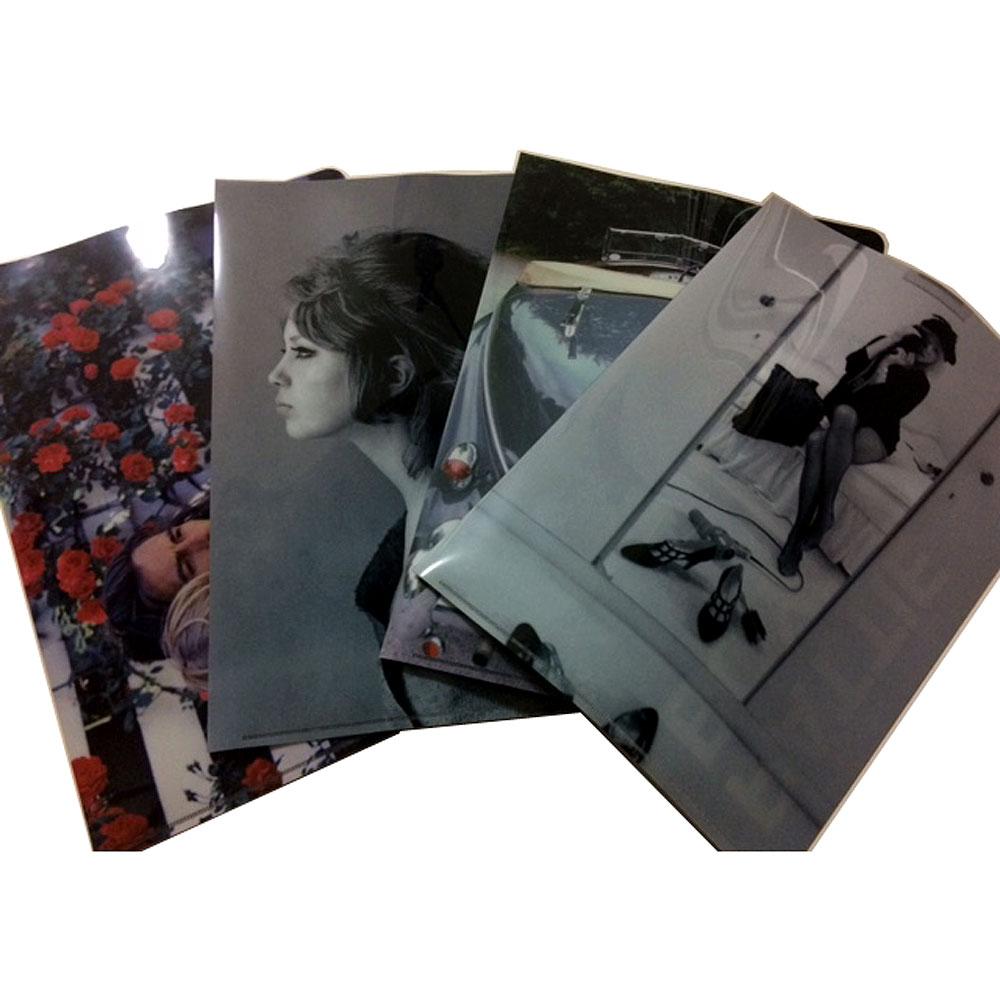 GEORGE HARRISON - (ジョージ・クラプトン来日コンサート30周年 ) - Pattie Boyd クリアファイル(4枚セット) / クリアファイル