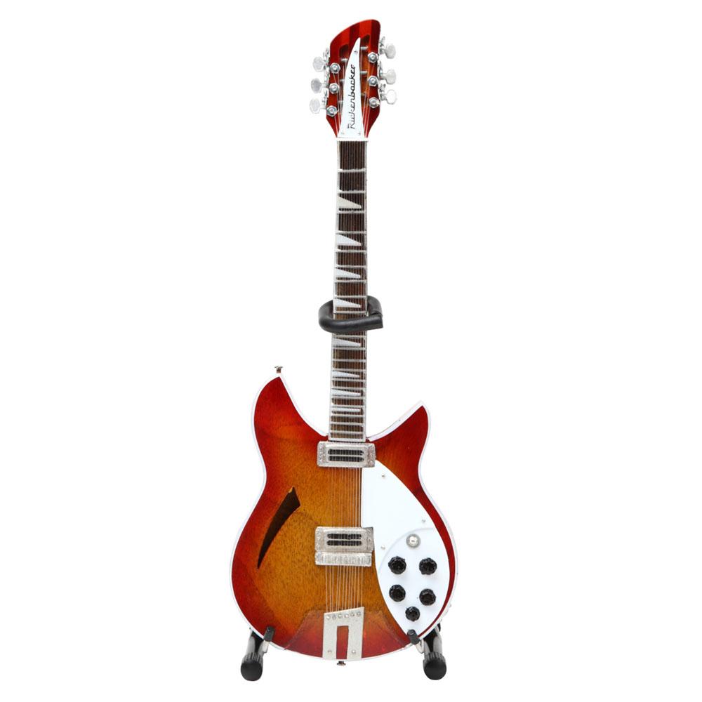 GEORGE HARRISON - (ジョージ・クラプトン来日コンサート30周年 ) - 12 String Rickenbacker 360 ミニチュア / ミニチュア楽器