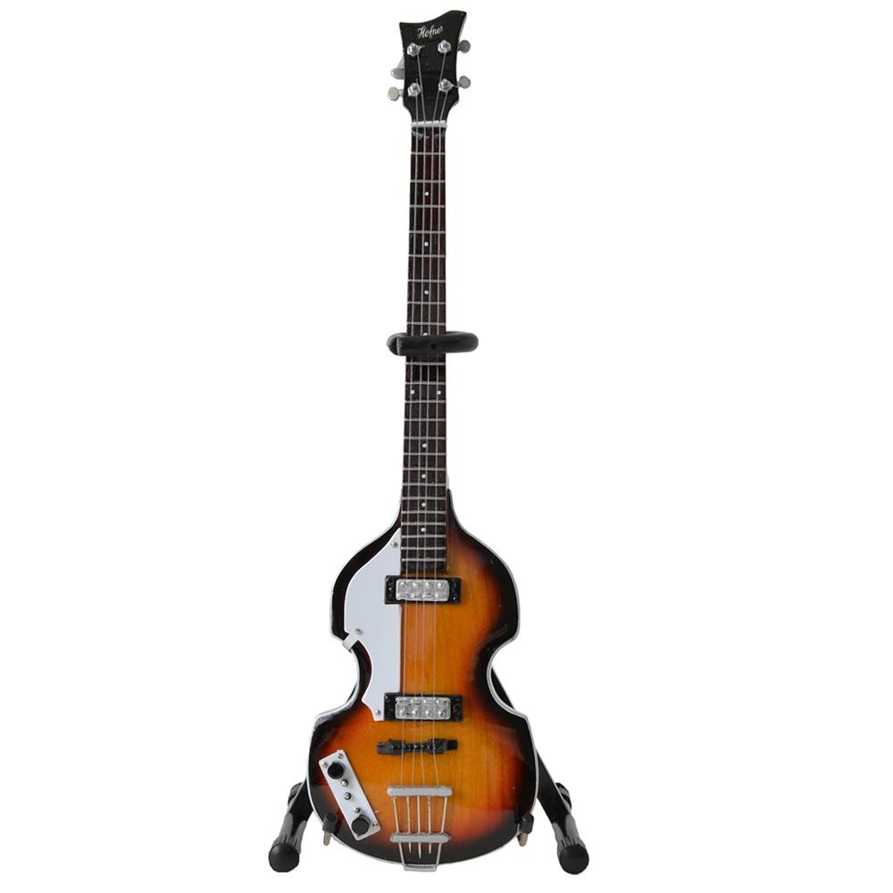 PAUL MCCARTNEY - (ウイングス・デビュー50周年 ) - Original Violin Bass ミニチュア / ミニチュア楽器