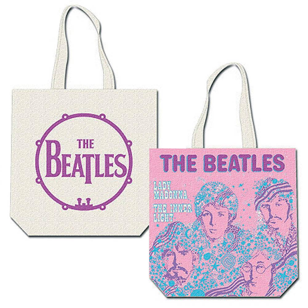 BEATLES - (来日55周年記念 ) - Lady Madonna / バックプリントあり / トートバッグ