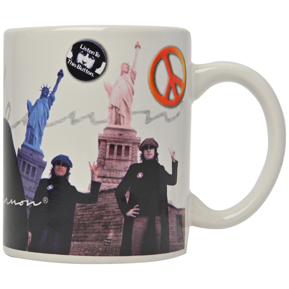 JOHN LENNON - (Live in New York City 発売35周年 ) - PEACE & LIBERTY / マグカップ