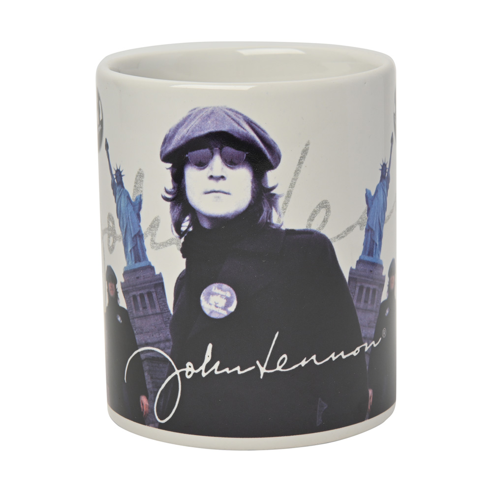 JOHN LENNON - PEACE & LIBERTY / マグカップ