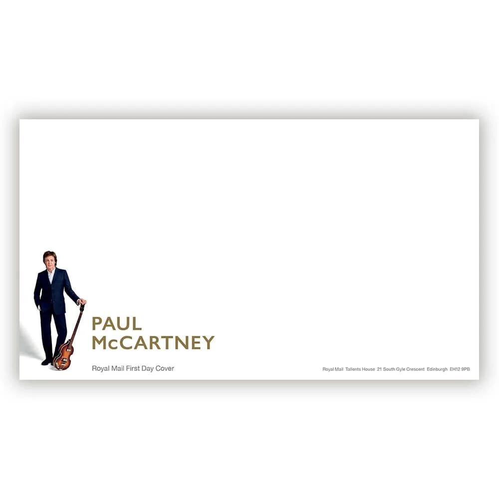 PAUL MCCARTNEY - (ウイングス・デビュー50周年 ) - First Day Envelope / 封筒 / ポストカード・レター