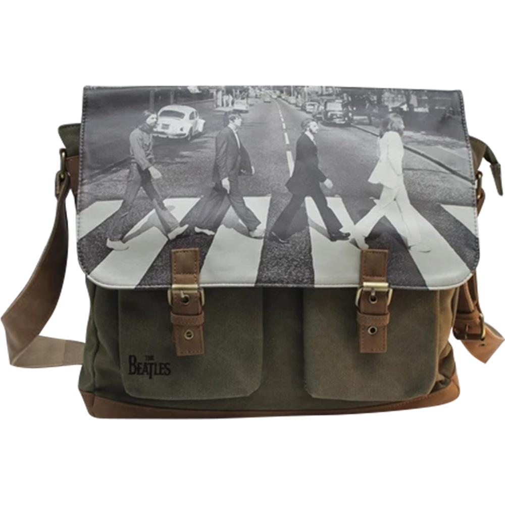 BEATLES - (来日55周年記念 ) - ABBEY ROAD GREEN / ショルダーバッグ / Disaster (U.K.ブランド) / バッグ