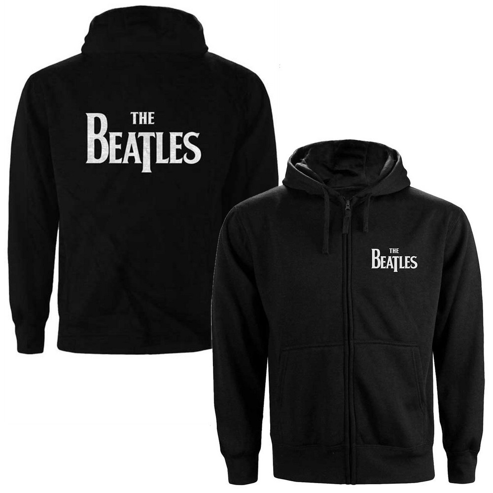 BEATLES - (来日55周年記念 ) - Drop T Logo / バックプリントあり / ジップ / スウェット・パーカー / メンズ