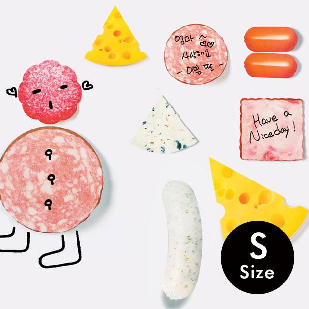 SLICED EAT STICKY NOTES