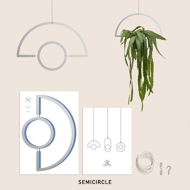 PLANT MOBILE SILVER