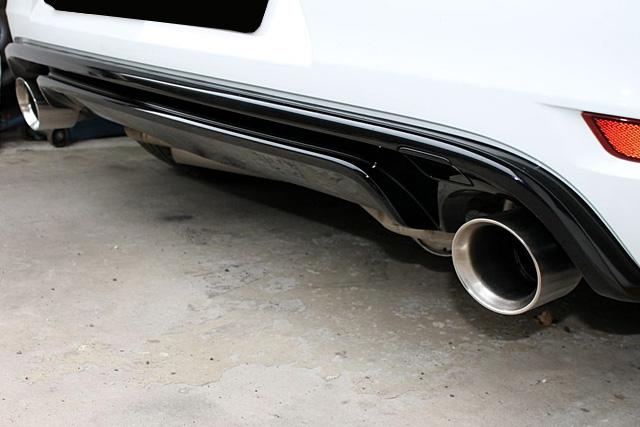 GOLF6 R Cabriolet リアディフューザー