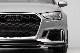 アウディ RS3セダン(8V後期) ECS製 リアルカーボン フロントスポイラー Audi RS3