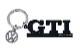VW GTI チャーム付き キーホルダー・ブラック (BRISA)
