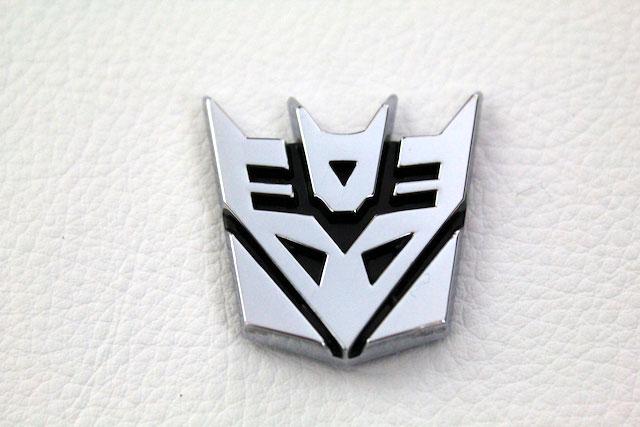 トランスフォーマー Decepticon エンブレム
