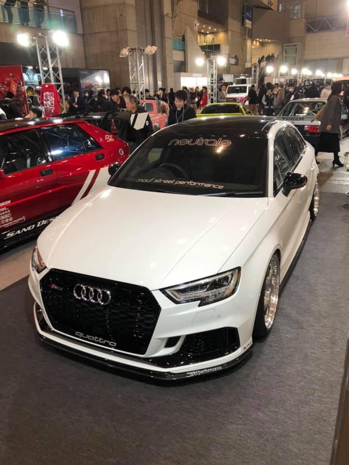 Audi RS3 (8V 後期) add Performace製 フロントスポイラー アウディ