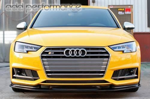 Audi A4 Sline/S4 (8W/B9) add Performace カーボン フロントスポイラー アウディ
