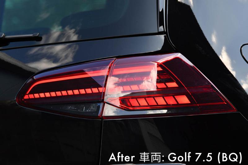 VW GOLF7(7.5) テールランプ ウインカー スモークフィルム