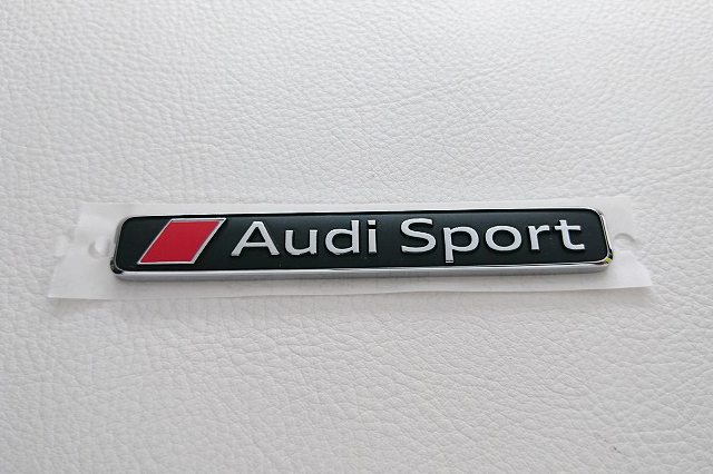 Audi純正 Audi Sport エンブレム