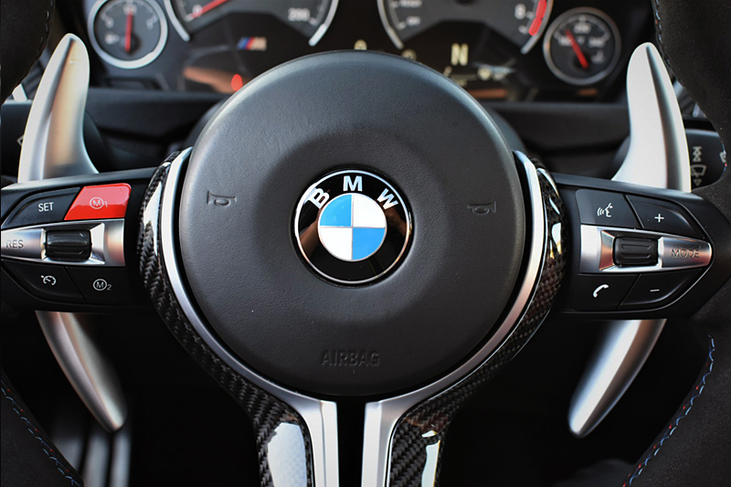BMW Fシリーズ  シフトパドル・アルミ調 【Racetech製】