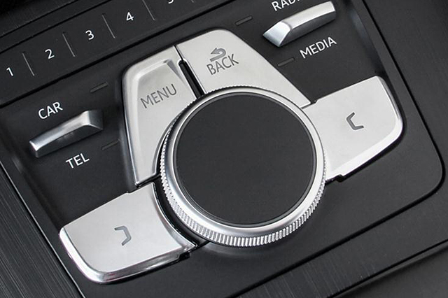 New Audi A4/A5(B9) MMIスイッチカバー・アルミ調
