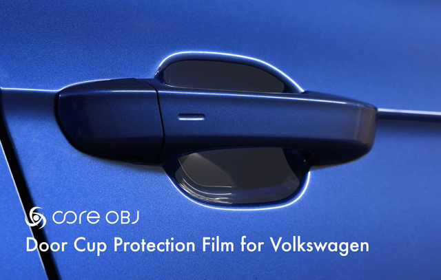 VW T-ROC ドアカップ プロテクションフィルム Tロック