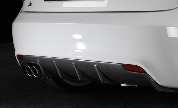 RIEGER Audi A1リア ディフューザー