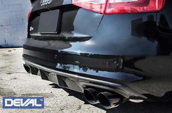 DEVAL Audi A4(Sline)/S4 カーボン・リアディフューザー