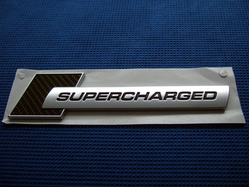 Audi S4純正 SUPERCHARGEDエンブレム