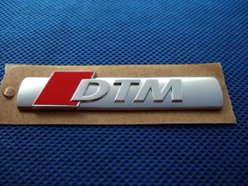 Audi純正 DTM エンブレム