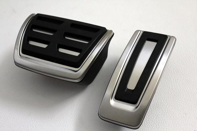 GOLF7/PASSAT/Tiguan ステンレス ペダルセット(VW純正)